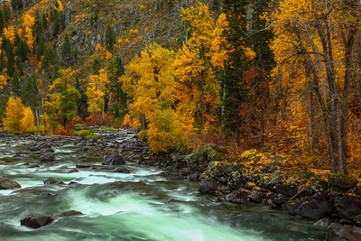 Tumwater Canyon Wenatchee River, Washington