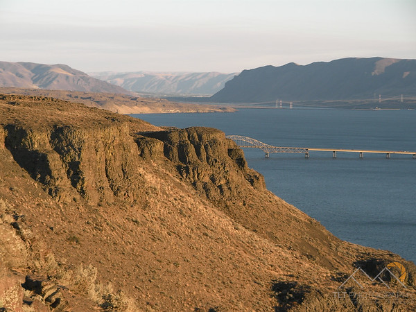 The Columbia River from a scenic overlook on I90 in Washington. Please Follow Me! https://tlt-photography.smugmug.com/