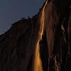 Last Moonlight on Horsetail Falls