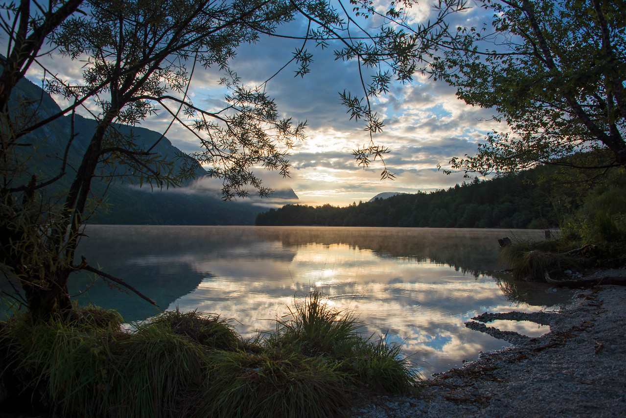 Lake Bohijn Slovenia