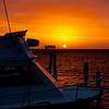 Another boring sunset on the dock at Bay Islands Beach Resort in Roatan.