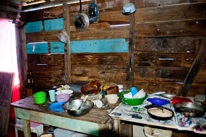 Inside Grace's Kitchen.