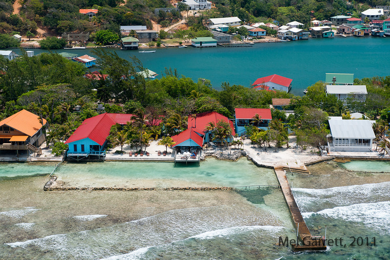 The Island of Roatan, Reef House Resort.