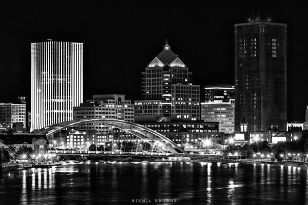 Rochester in monochrome