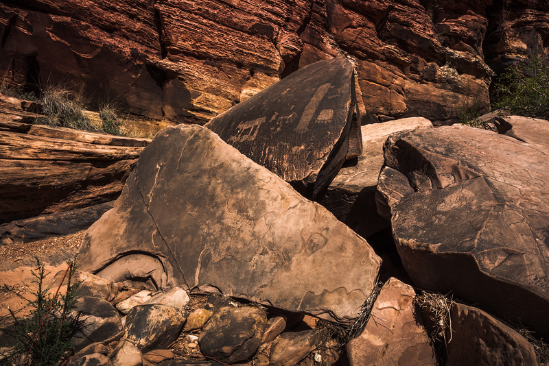 Bear Paw Petroglyphs