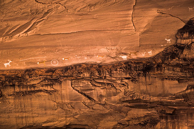 Pictographs - Canyon de Chelly