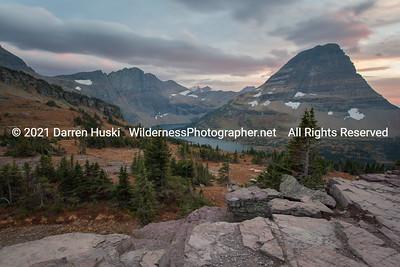 Logan Pass Sunset