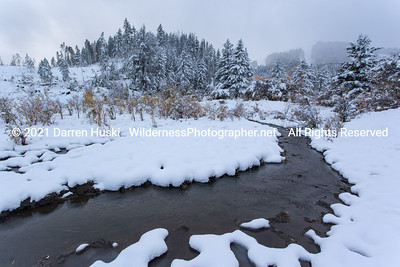 First snow of the Season in the Bears Paw Mountains