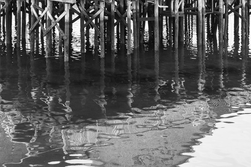 The Pier, Reflection