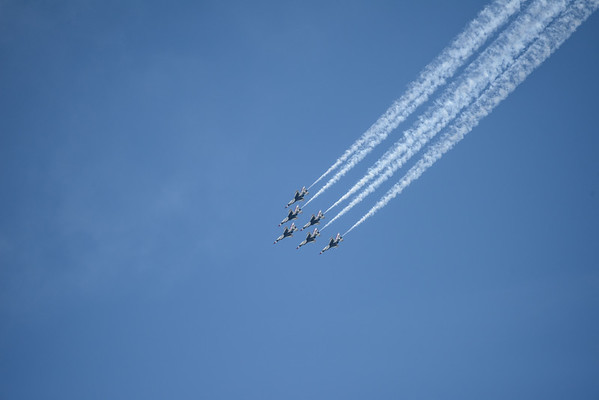 Thunderbirds in action