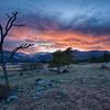 """Rocky Mountain Sunset - 13 April 2017"""