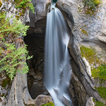 Maligne Canyon Waterfall