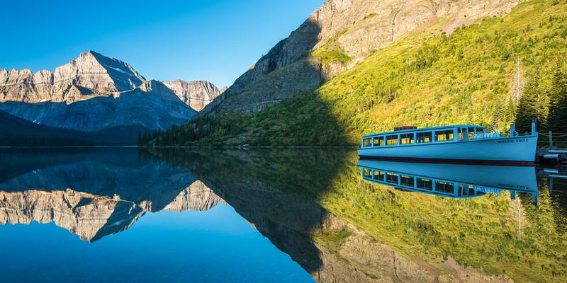 Josephine Lake Reflection