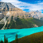 Colors of Peyto Lake