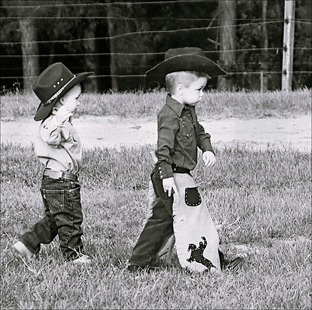 """Little cowpokes"""