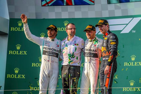 2019 Rolex Australian Grand Prix - F1 Track.