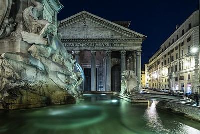 Pantheon at night | Rome