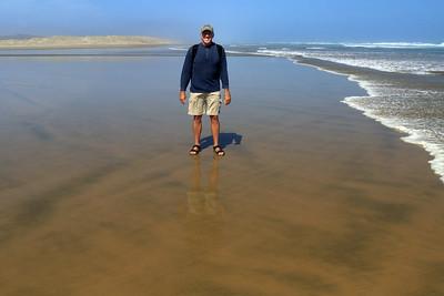 90 Mile Beach - Te Oneria a Tohe - adjacent the Te Paki Sand Dunes - Northland region - North Island - New Zealand.