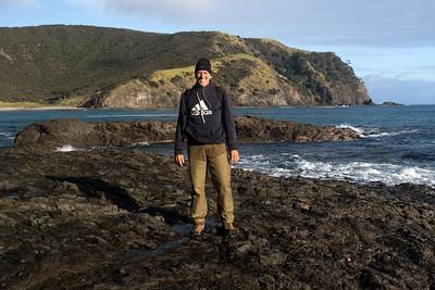 Tapotupotu Bay - Te Paki Recreational Reserve - confluence of the Pacific  Ocean and Tasman Sea - Northland region (far north area) - North Island - New Zealand.