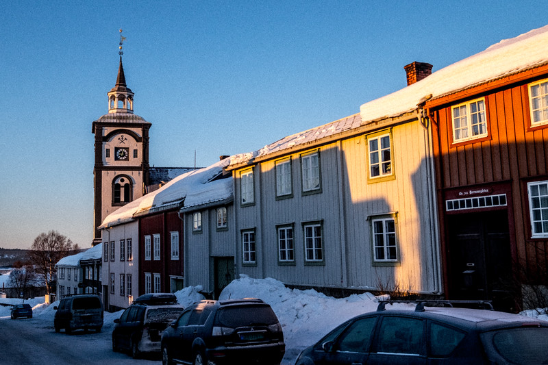 Røros: homage to painter Harald Sohlberg