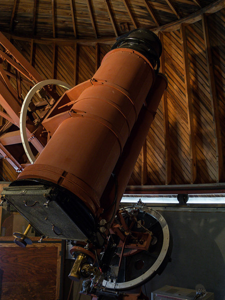 """The 13"""" Telescope Clyde Tombaugh used to Discover Pluto"""