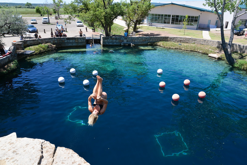 The Blue Hole  ,  Nouveau Mexique