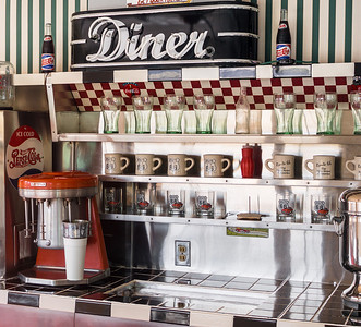 Inside of Historic Diner