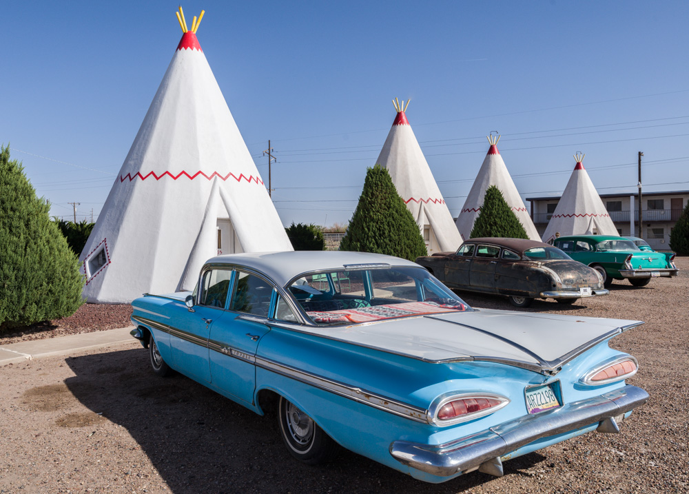 The Wigwam Motel in Holbrook Arizona