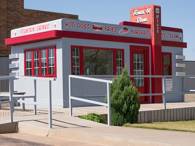 Tiny Valentine Manufactured Route 66 Diner