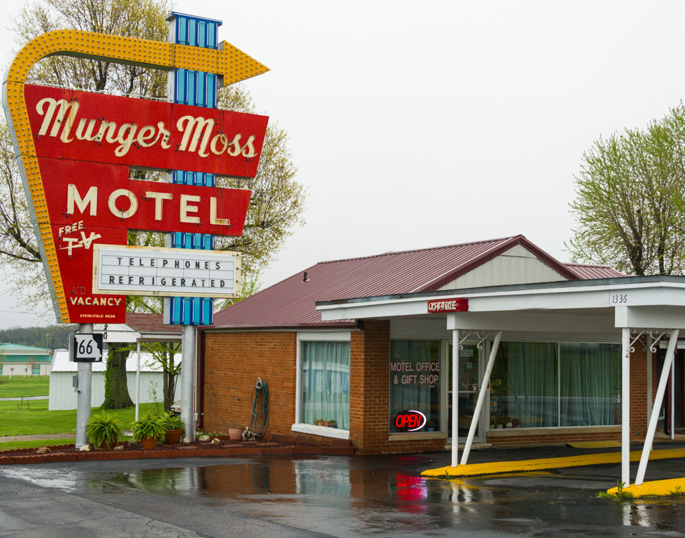Munger Moss Motel on Historic Route 66