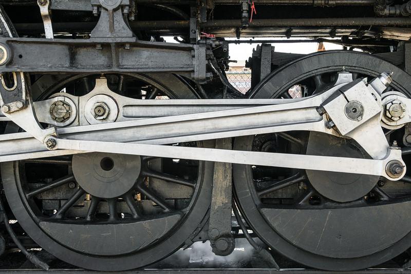 Steam Locomotive Drive Gear; Grand Canyon 4960