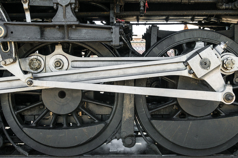 Steam Locomotive Drive Gear; Grand Canyon 4960