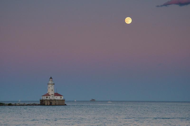 Arrivée au port de Chicago