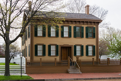 "President Lincoln""s Home in Springfield, IL"