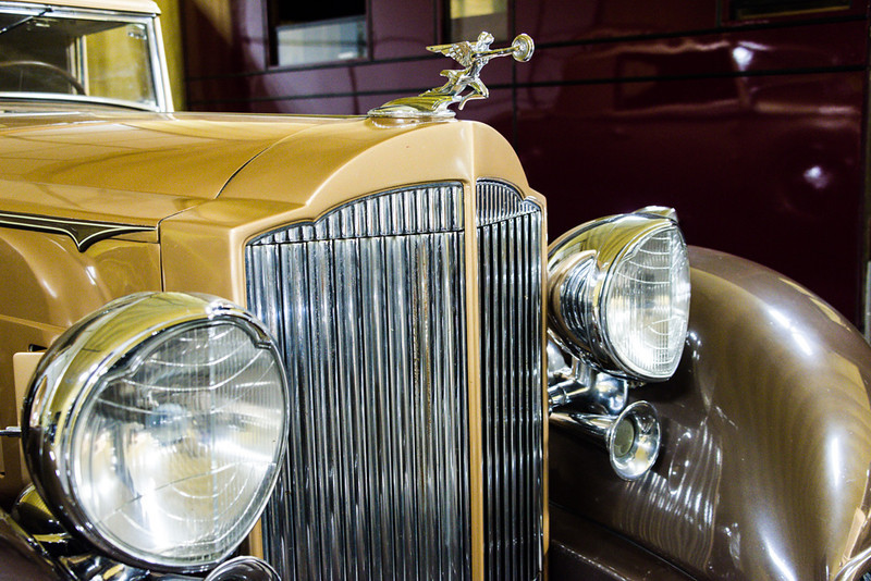 Packard Automobile Detail