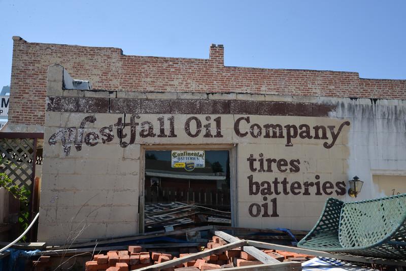 Ancienne station service, Oklahoma