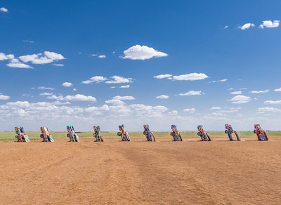 Cadillac Ranch in Amarillo