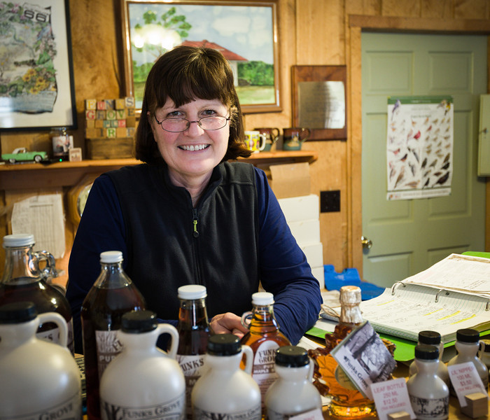 Debby Funk of Funk's Grove Maple Sirup