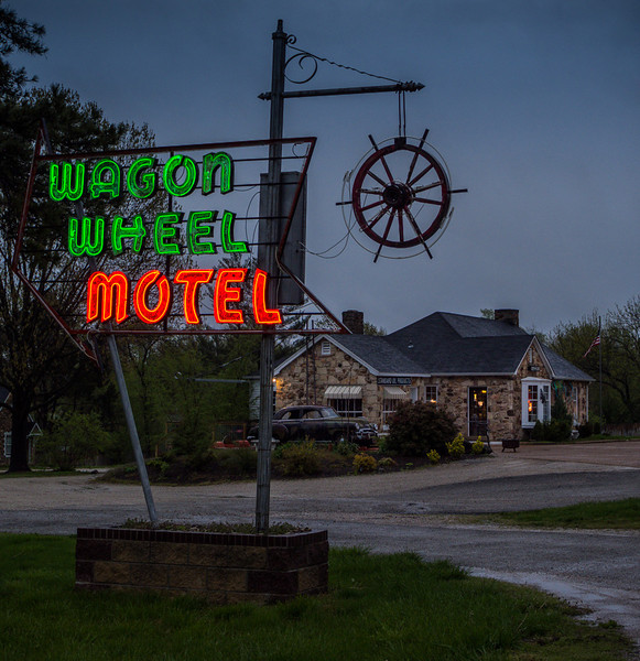 Wagon Wheel Motel on Historic Route 66