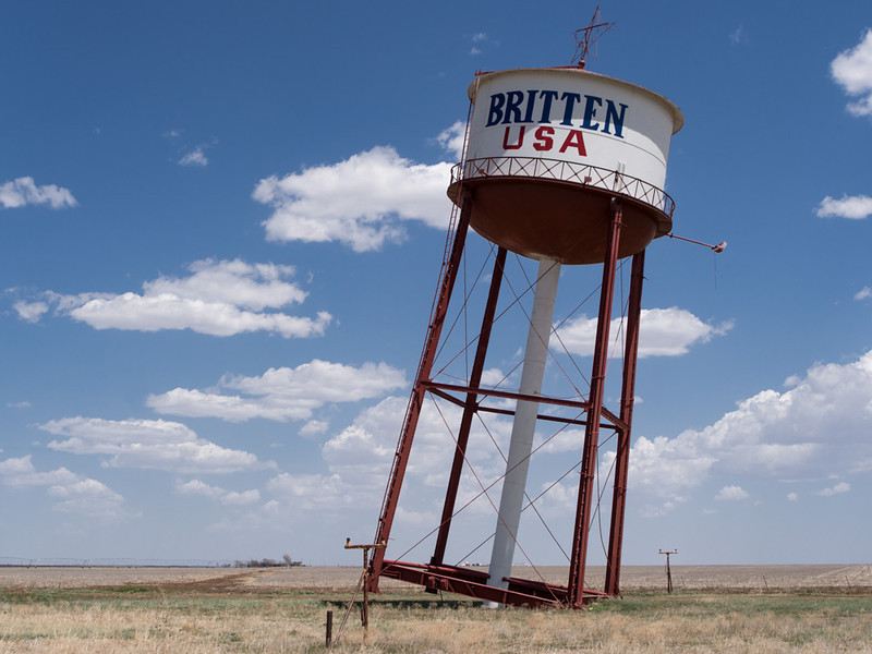 Leaning Water Tower of Groom Texas