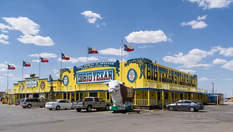 The Famous Big Texan Restaurant