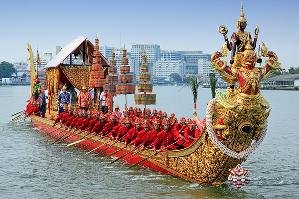 Bangkok - Royal Barge Procession