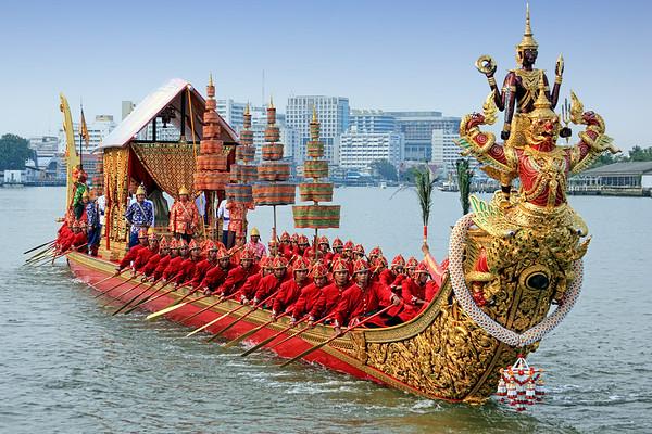 Bangkok - Royal Barge Procession 2012