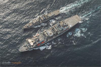 HMS Sutherland RAS