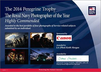 2014 Peregrine Trophy