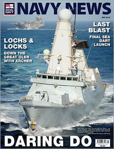 Navy News Front Cover