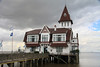 Club de Pescadores (Fisherman's Club) is situated on the banks of the Río de la Plata - completed in 1930 - declared a national historic monument in 2001.
