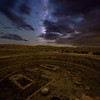 Chetro Ketl Kiva and Cloudy Milky Way, Chaco Culture National Historical Park, NM
