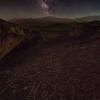 Sky Rock and Milky Way