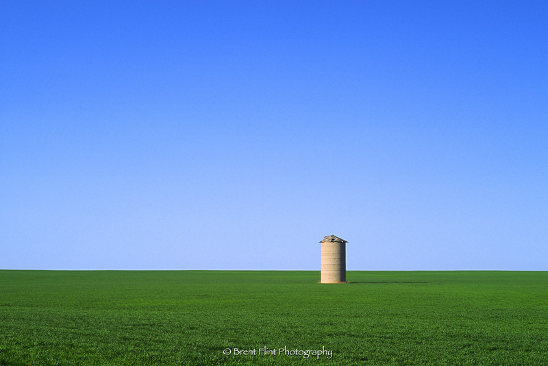 DF.101 - silo in field, Douglas County, CO.